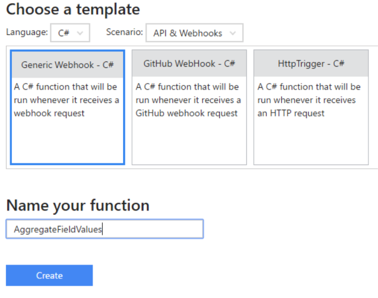 Using Logic Apps and Azure Functions to Create a CRM Workflow